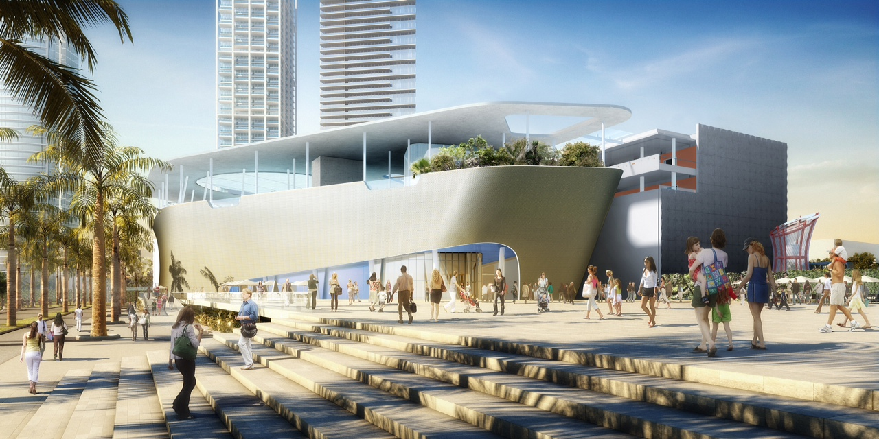 Transforming downtown Miami into a center of science, art and learning
