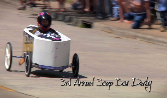 Ambulances, Roller Derby queens and more help celebrate community with Macon Soap Box Derby