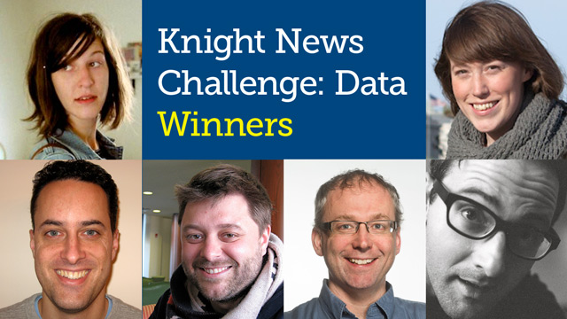 Highlighting the 2%: the Knight News Challenge: Data finalists