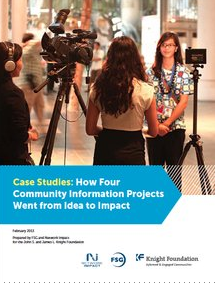 Nine insights on taking community information projects from idea to impact