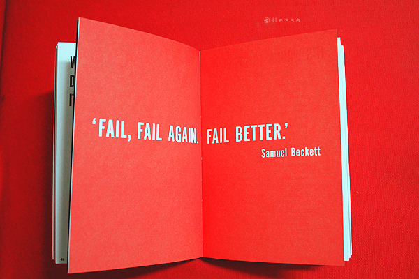 Three tips on learning from failure