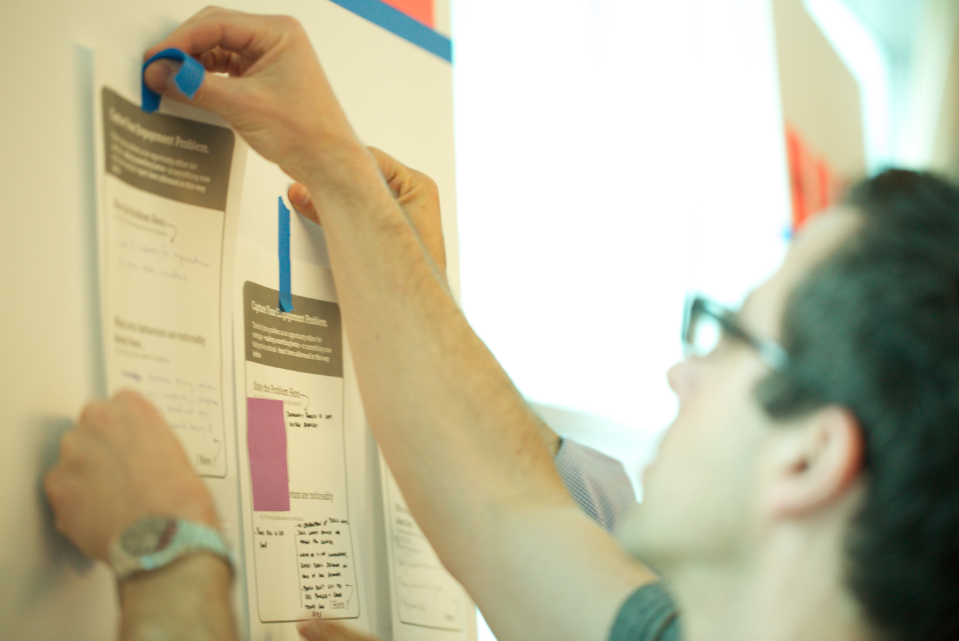 Innovators develop ideas on advancing opportunity