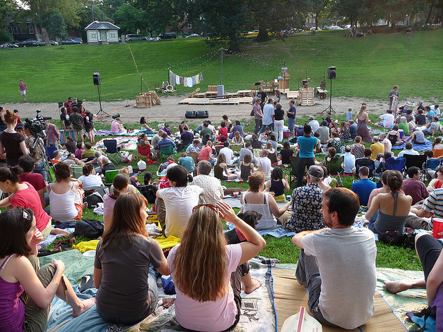 Philly residents prepare for battle in Shakespeare in the park