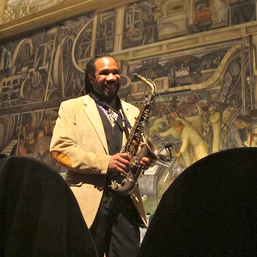 Mike Monford & Detroit Effervescence perform at Detroit Institute of Arts