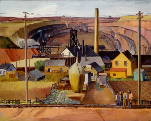 When art worked: New Deal-era paintings at the Minnesota History Center