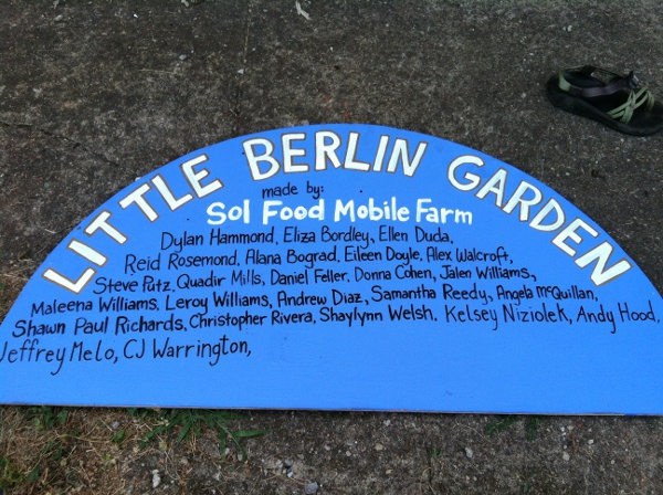 Little Berlin has a lot on their plate (literally)