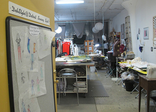 An open-studio tour of the Russell Industrial Center