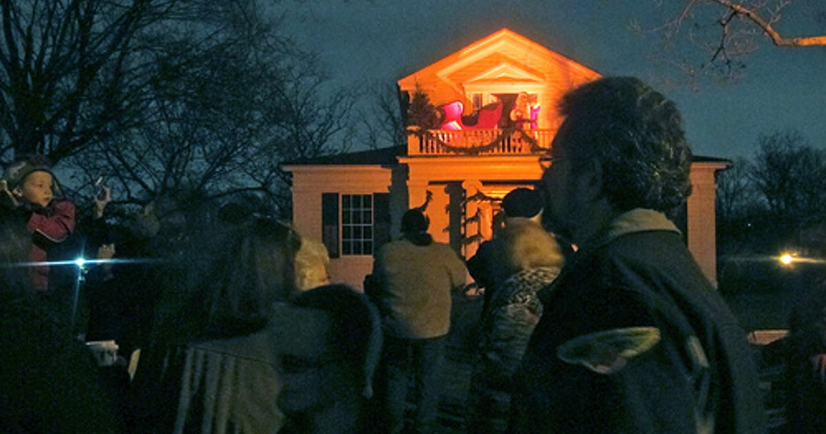 Led Shop Lights >> The Henry Ford Museum lights up Holiday Nights with an old ...