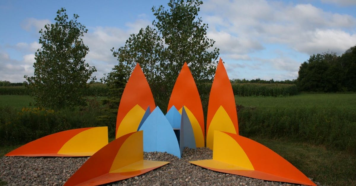 Weekend Daytrip Franconia Sculpture Park 39 S Art And