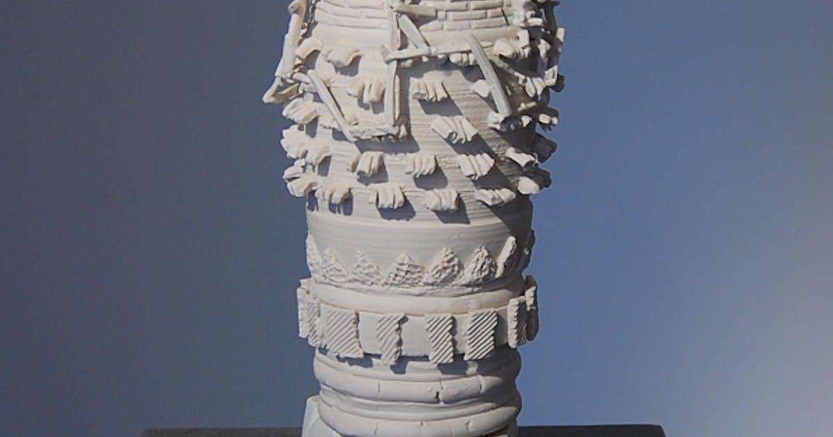 Metaphysically Charged Ceramics By Terri Saulin Frock At Tsa Knight Foundation