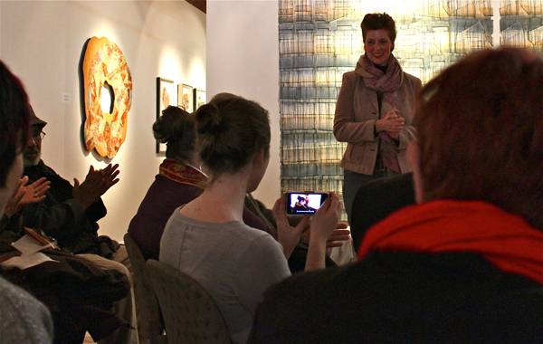Addie Langford reveals layers during talk at N'Namdi Center for Contemporary Art