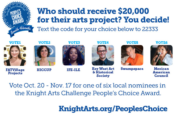Voting is open for the South Florida Peoples Choice Award!