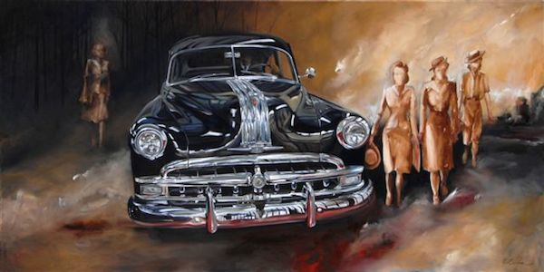 New exhibitions at the Ohr-O'Keefe Museum of Art feature cars and parades