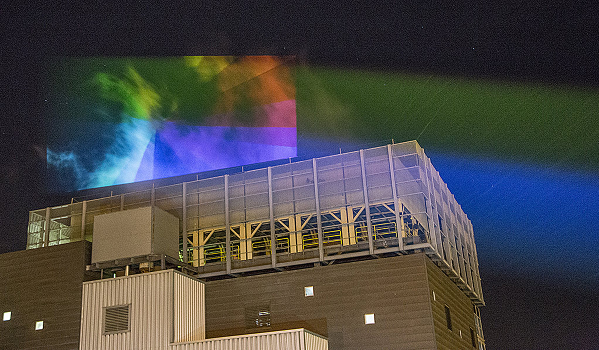 Plume Project lights up the night sky with art