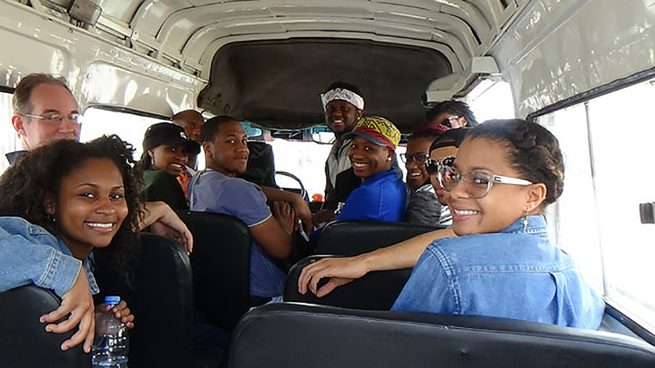 Detroit youth explore culture and history of West Africa on trip funded by Knight Arts Challenge award