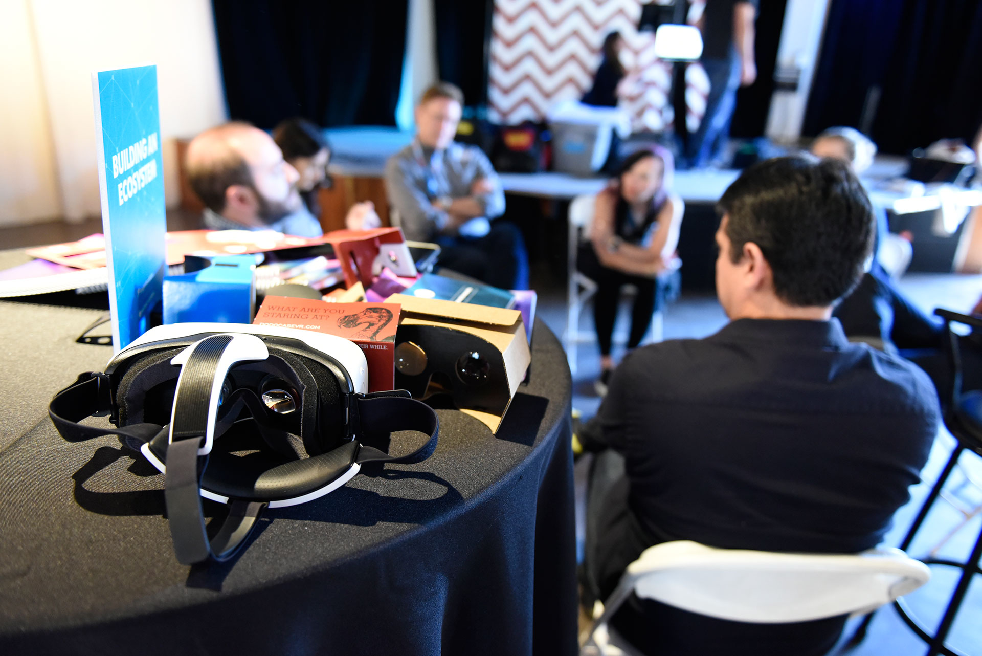 Knight gathers journalists, technologists and filmmakers at SXSW to explore trends and opportunities in virtual reality