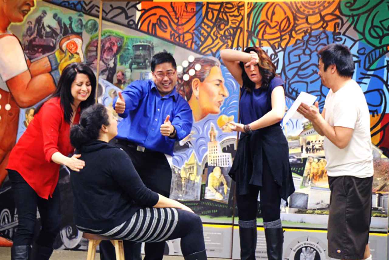 New piece explores diversity in theater - onstage