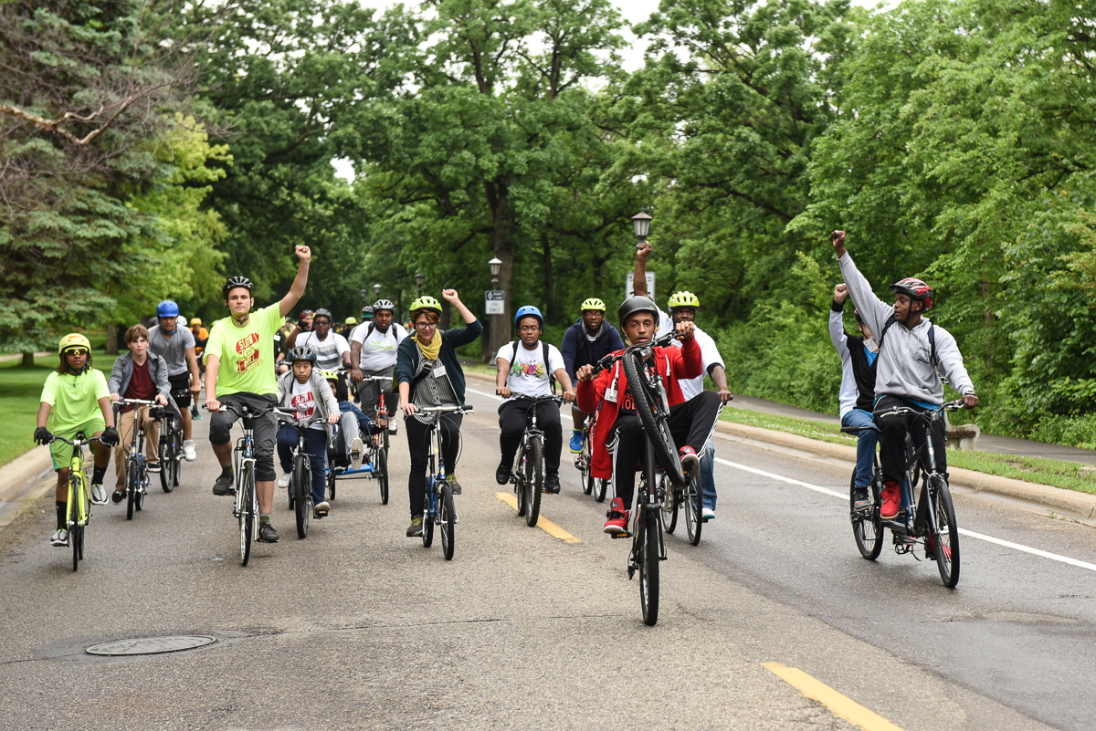 Slow Roll bicycling movement builds community in St. Paul