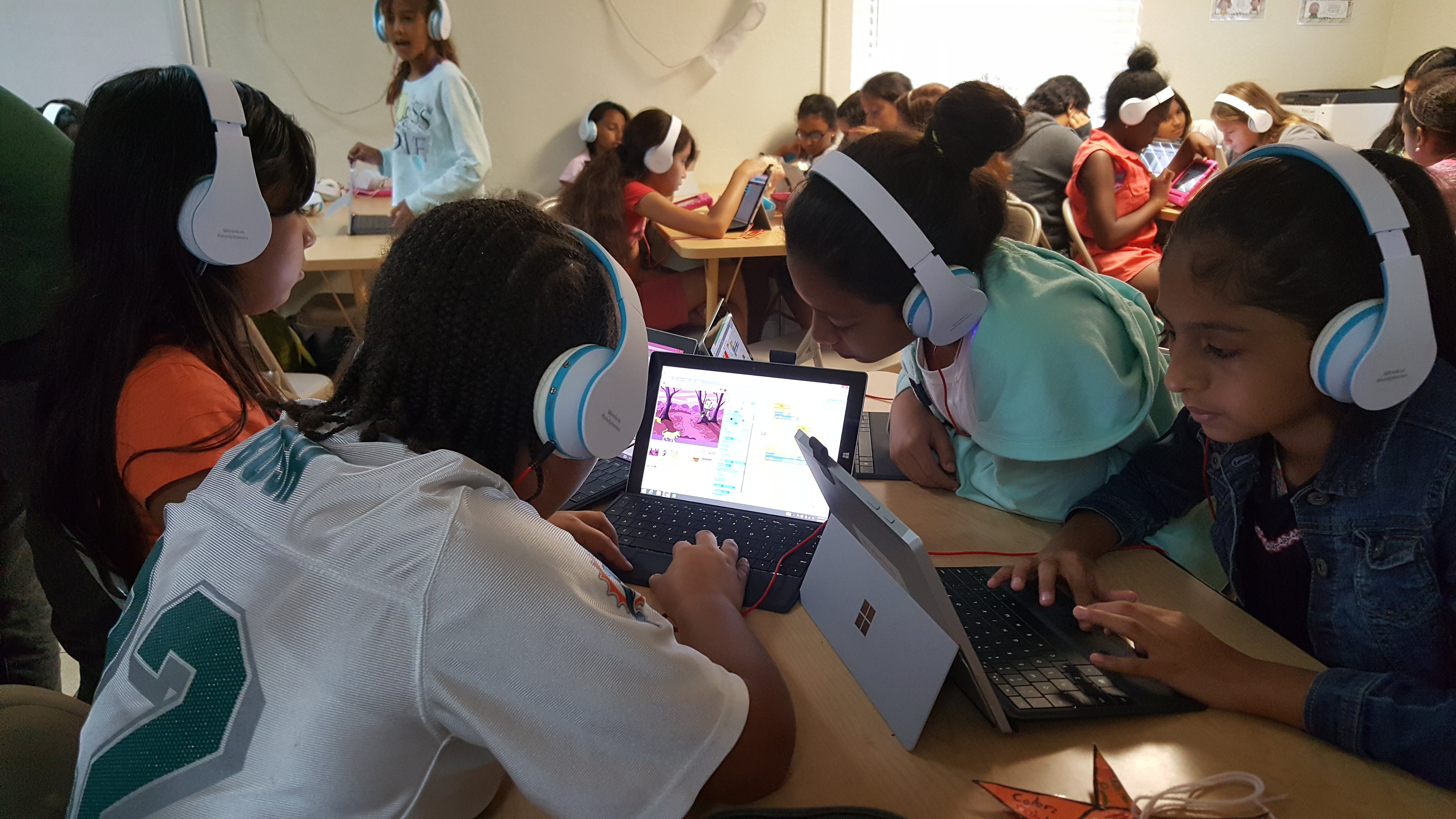 CODeLLA connects Latina girls and their families to future careers in tech
