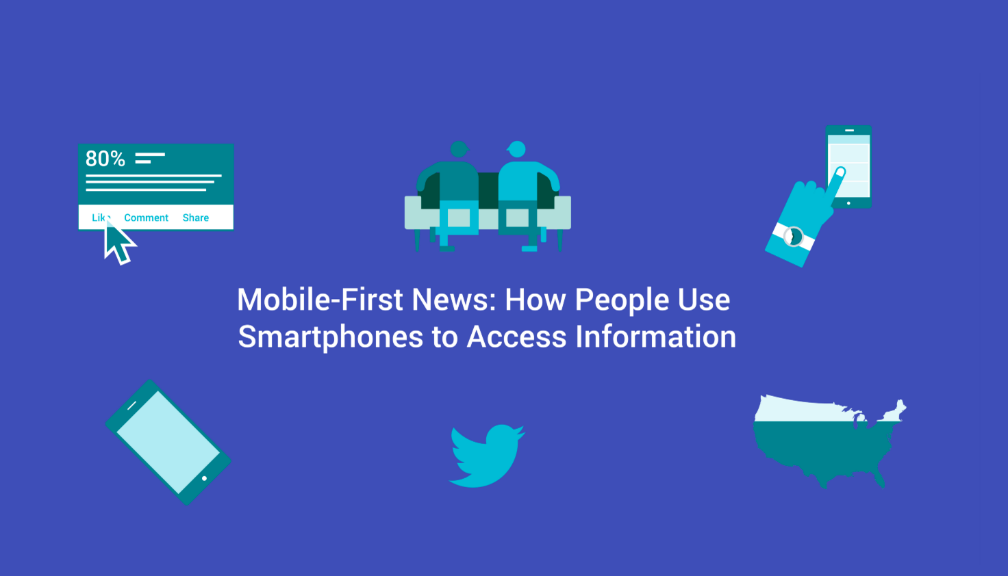 Since 2011, the rate of adult U.S. smartphone ownership has increased notably from 46 to 82 percent, and is nearing a saturation point among some age groups. 89 percent of the U.S. mobile population (144 million users) now access news and information via their mobile devices, according to a 2016 Nielsen report.