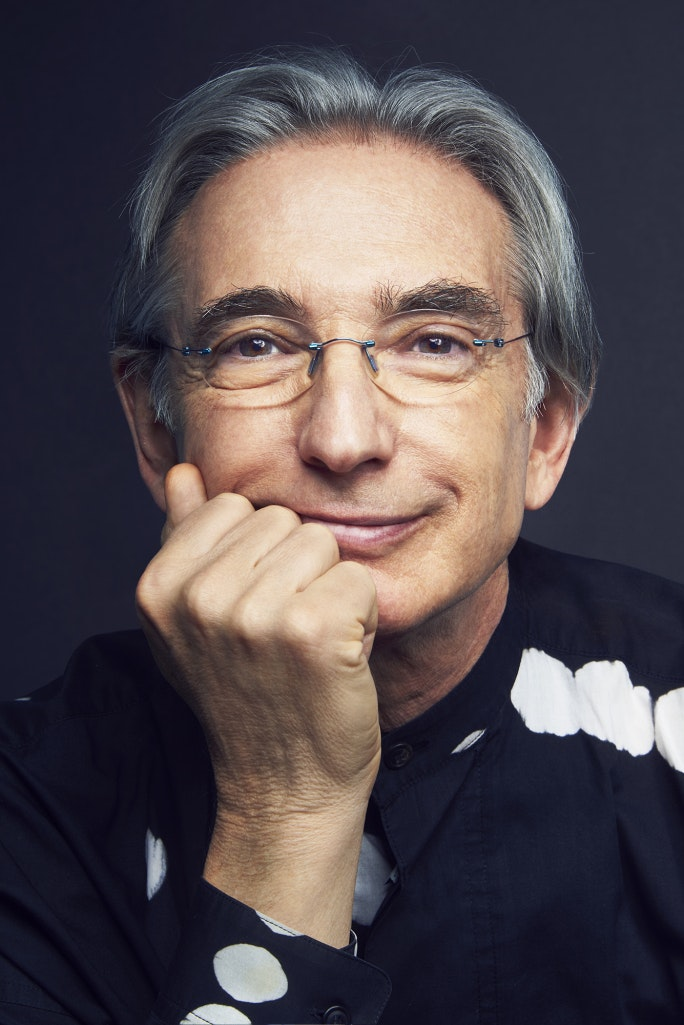 <p>New World Symphony co-founder Michael Tilson Thomas. Photo by Spencer Lowell.</p>