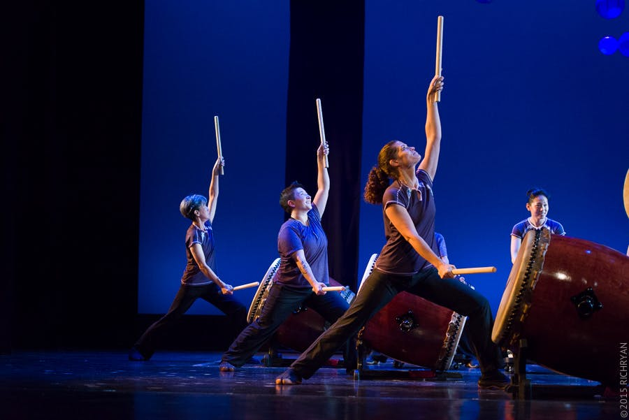 <p><em>TaikoArts Midwest. Photo courtesy of Rich Ryan.</em></p>