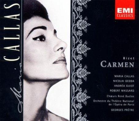 <p>She never performed the role onstage, but Maria Callas's turn as Carmen in this 1964 recording was one for the ages.</p>