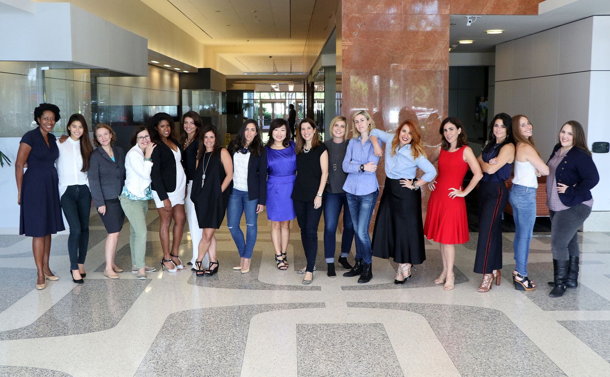 <p>Members of the inaugural cohort of the WIN (Women Innovating Now) Lab Miami cohort. Photo courtesy WIN Lab Miami.</p>