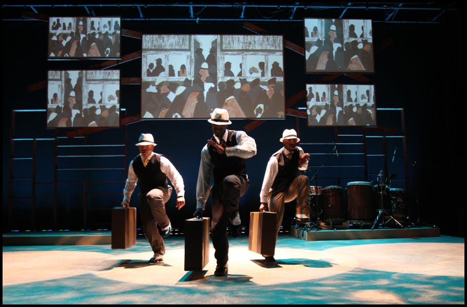 <p><em>&quot;The Migration: Reflections on Jacob Lawrence&quot; by Knight Arts Challenge winner Step Afrika! USA Inc. Photo by Jati Lindsay.</em></p>