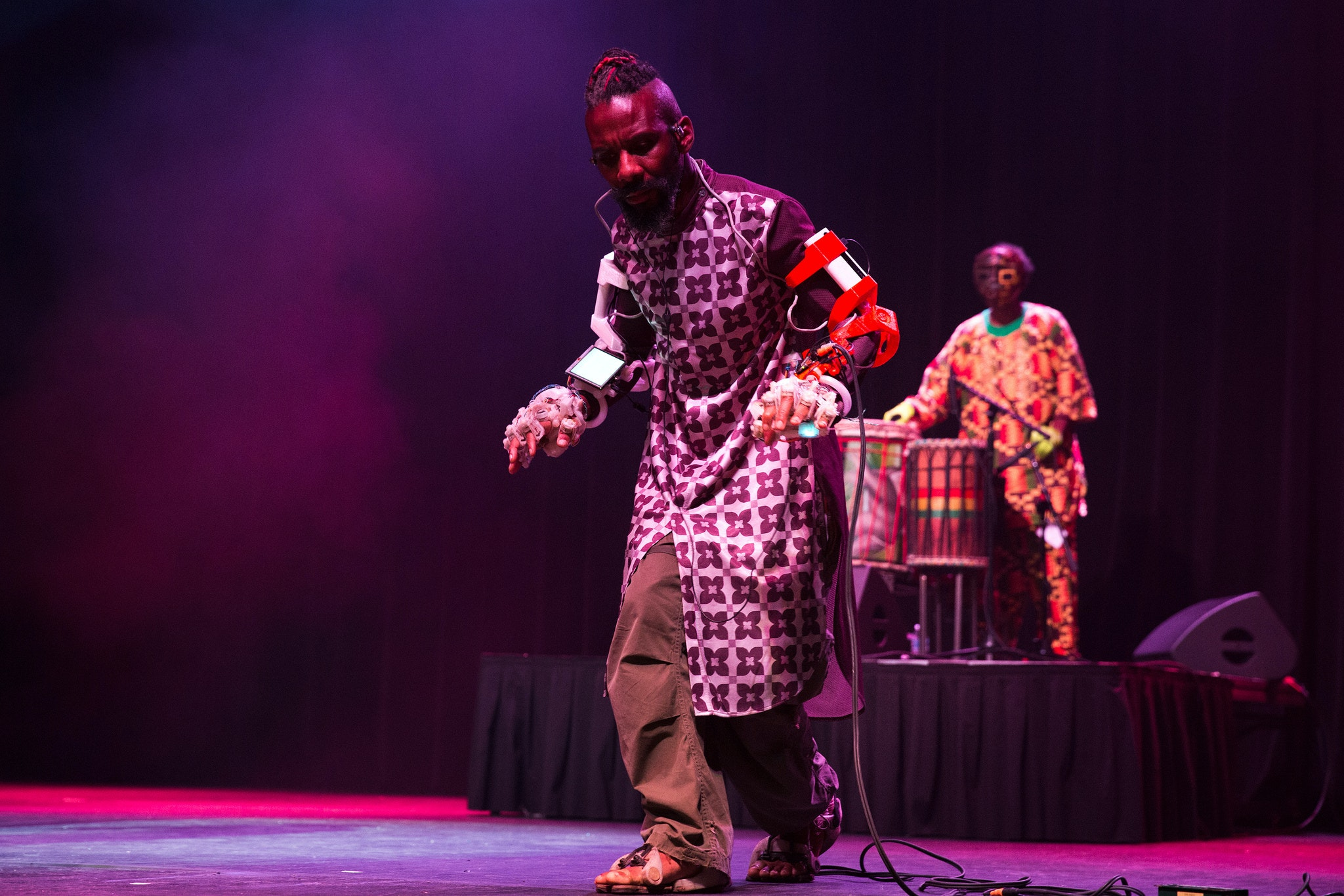 <p><em>Performance by Detroit Afrikan Funkestra.</em></p>