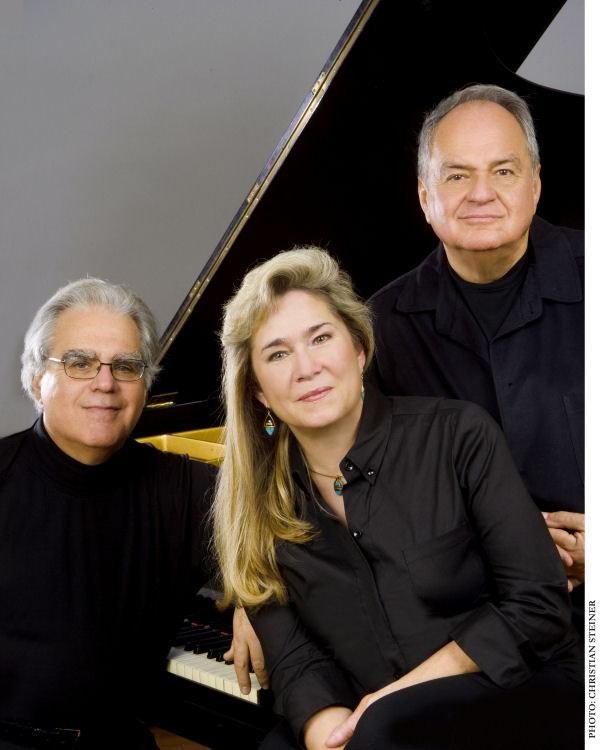 <p><em>Kalichstein-Laredo-Robinson Trio. Photo by Christian Steiner.</em></p>