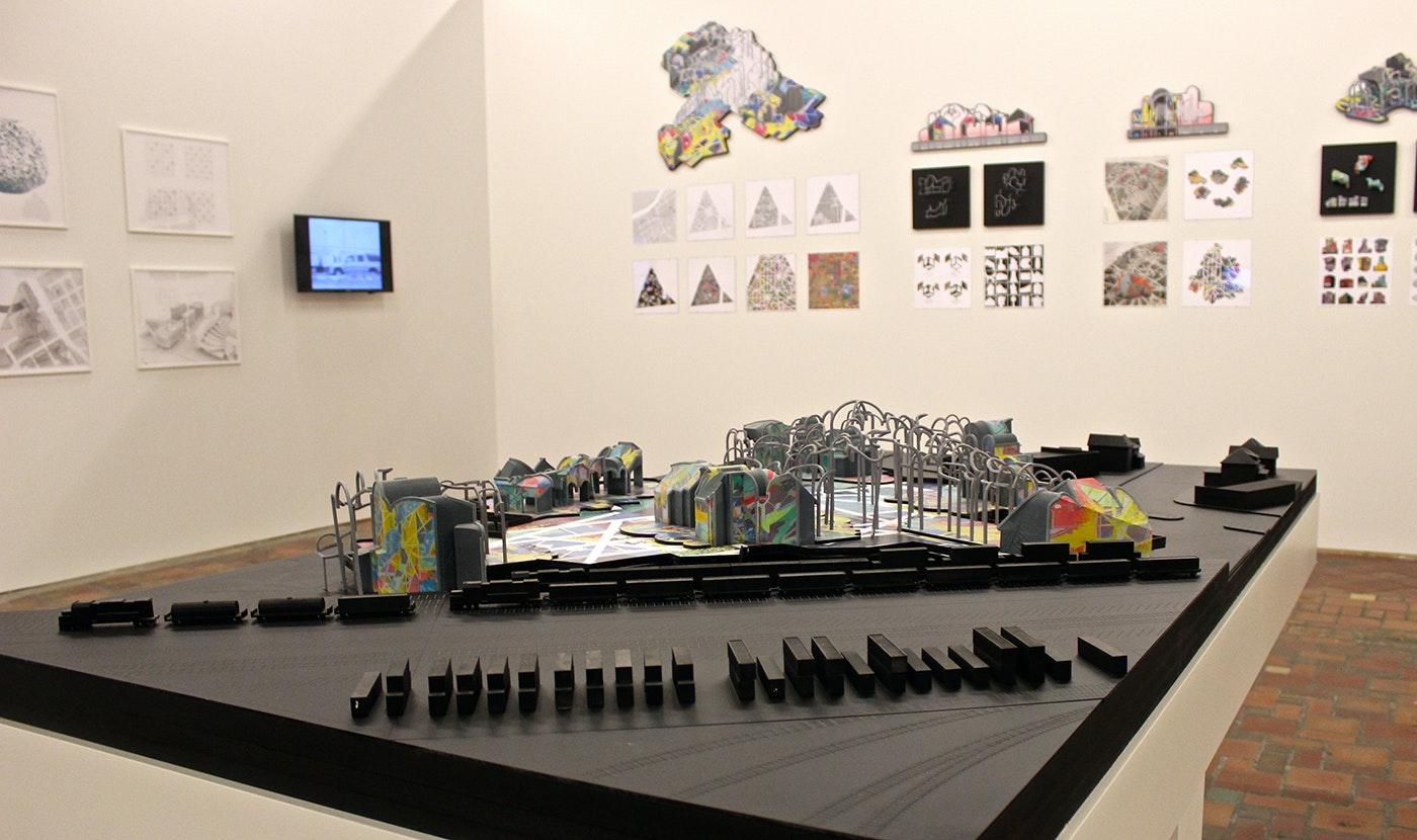 """<p>""""The New Zocalo"""" by Pita + Bloom, installation view.</p>"""