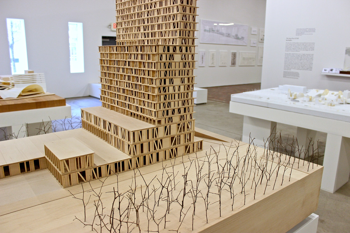 """<p>Model for """"New Corktown"""" by Present Future.</p>"""
