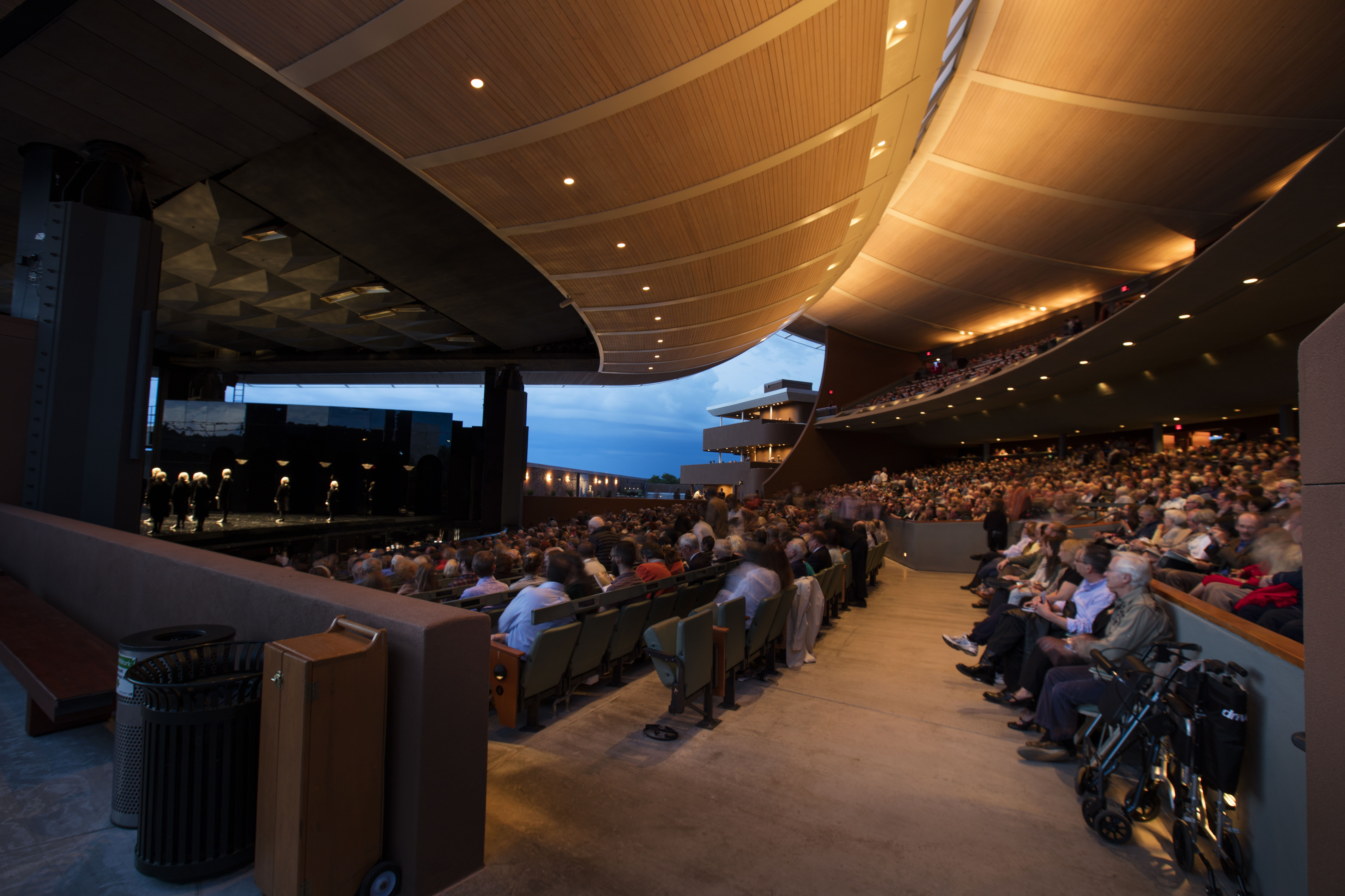 <p><em>Santa Fe Opera is known for its remarkable open-air performance space, considered one of the most beautiful in the world. Photo: © Kate Russell for Santa Fe Opera, 2016</em></p>