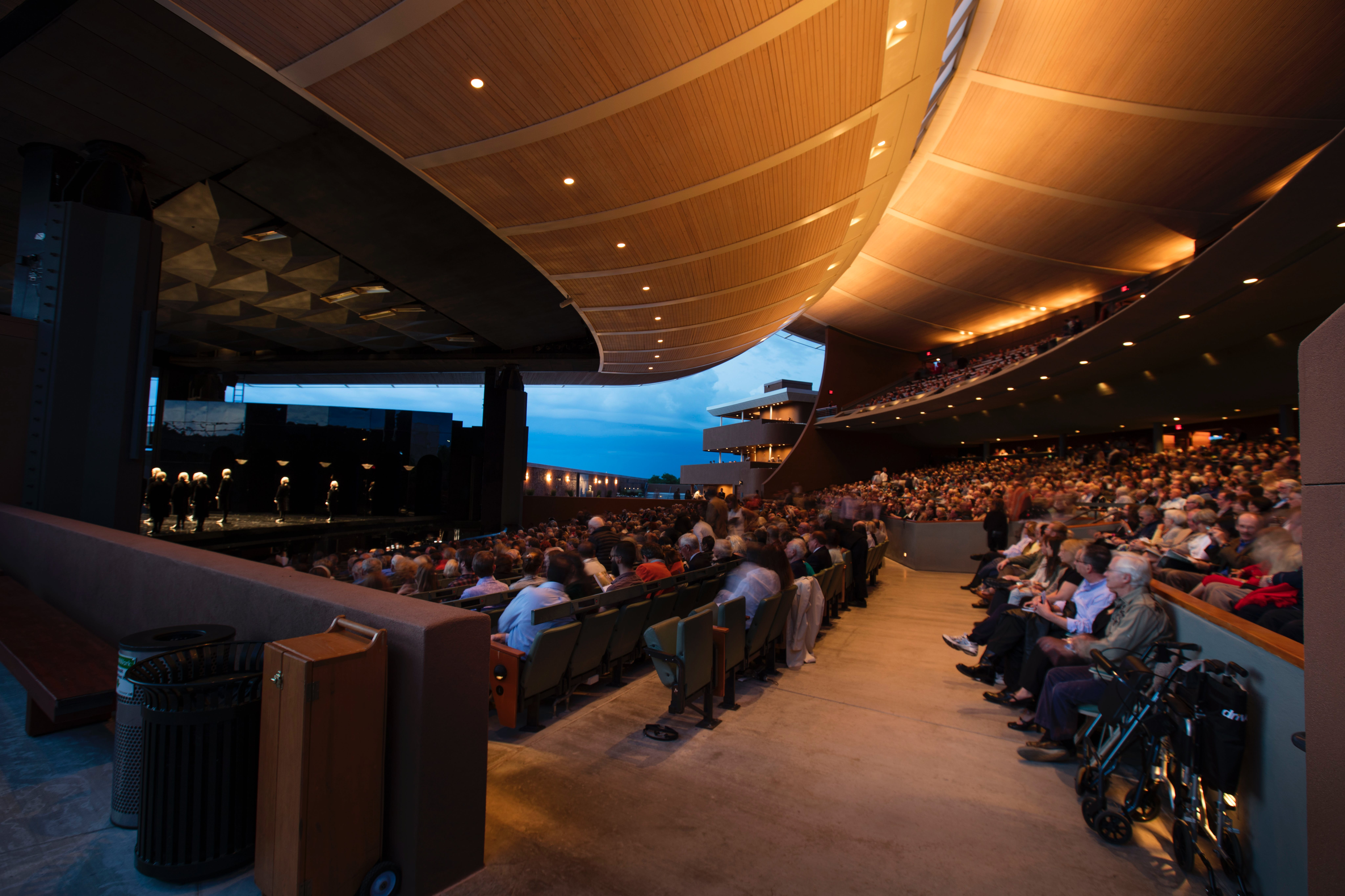 <p><em>Santa Fe Opera is known for its remarkable open-air performance space, considered one of the most beautiful in the world. Photo: &copy; Kate Russell for Santa Fe Opera, 2016</em></p>