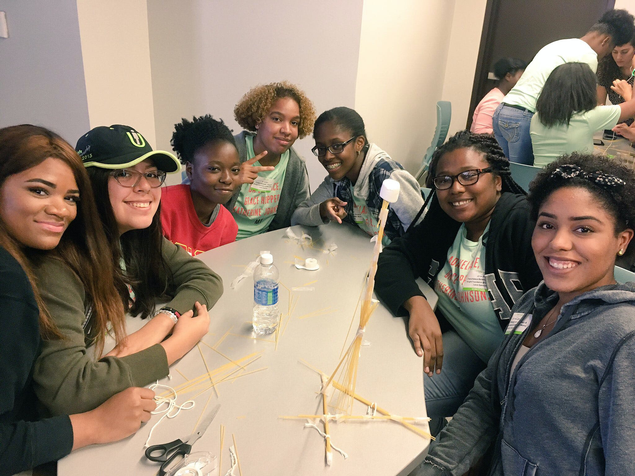 <p><em>Attendees of the Girls Who Code Summer Immersion program in Miami. </em></p>