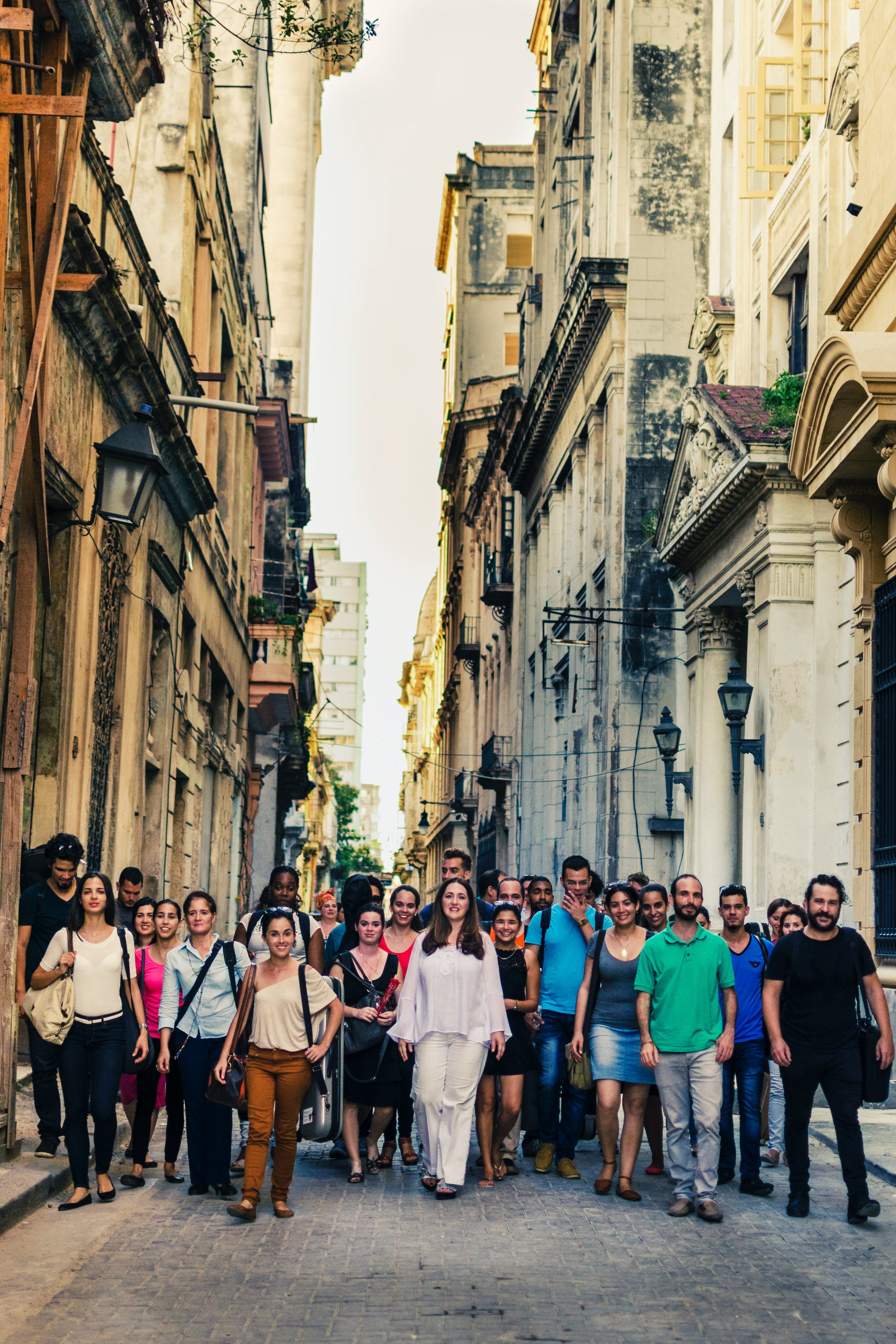 <p>After Simone Dinnerstein&#39;s delightful first experience playing with Havana Lyceum Orchestra in 2015, she returned to Cuba the following year to record an album of Mozart concertos with the young ensemble. Photo: &copy; 2017 Arianna Dominguez</p>