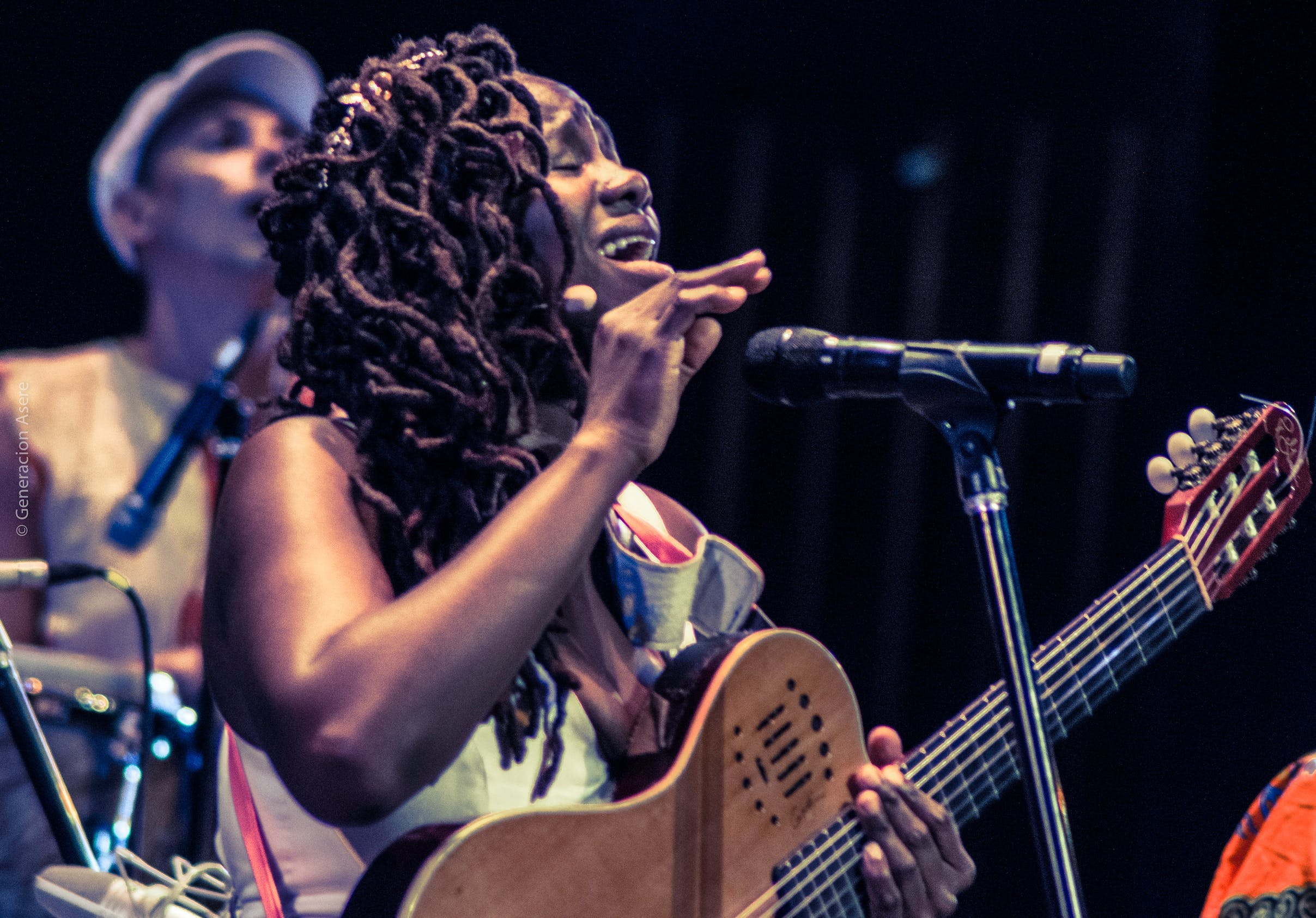 <p>FUNDarte&#39;s From the Barrio to the Mainstage. Photo by Generacion Asere of Inez Barlatier</p>