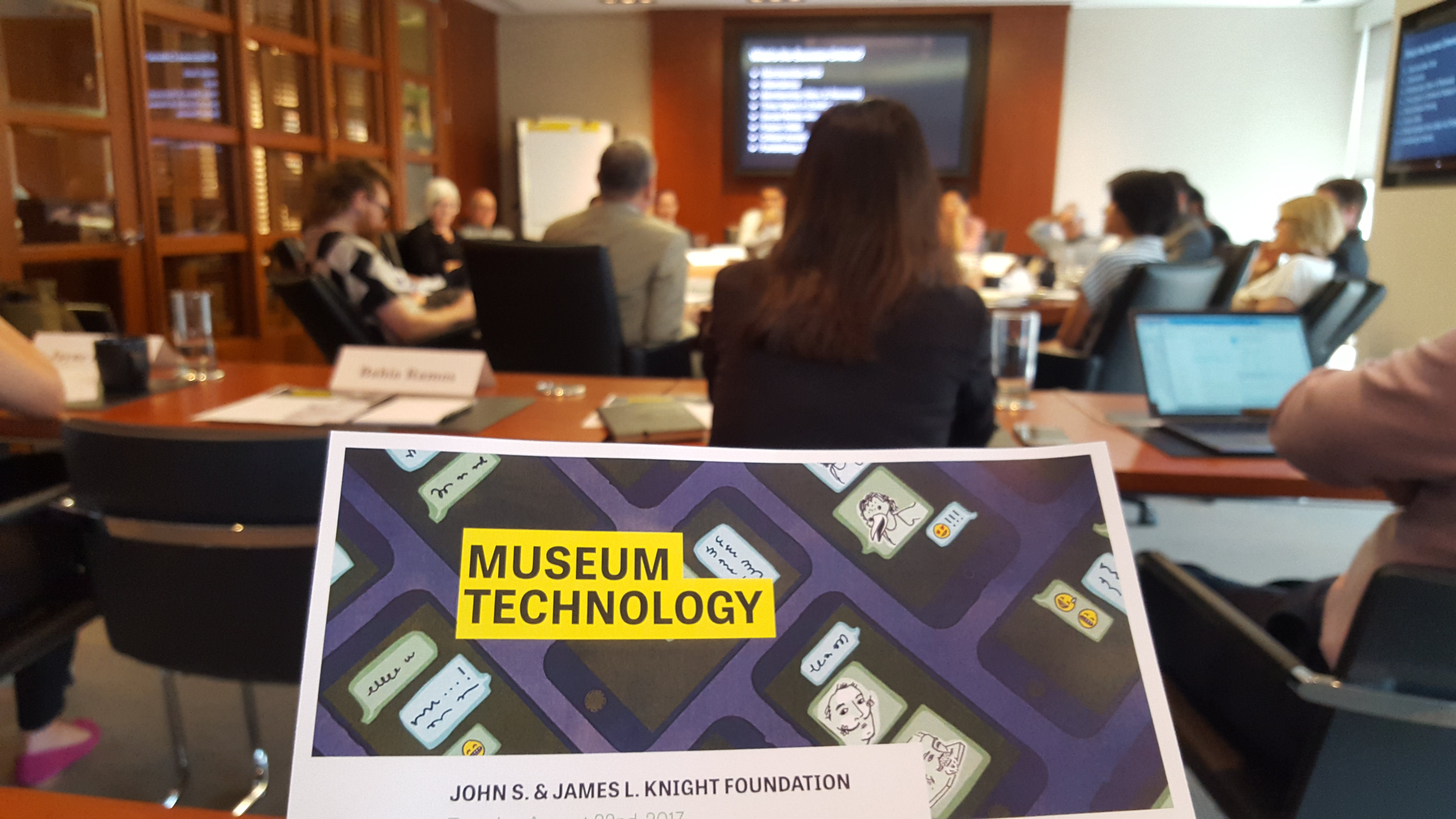 <p><em>The Aug. 22, 2017 convening on museums and the role of technology at Knight Foundation offices in Miami, Fl. </em></p>