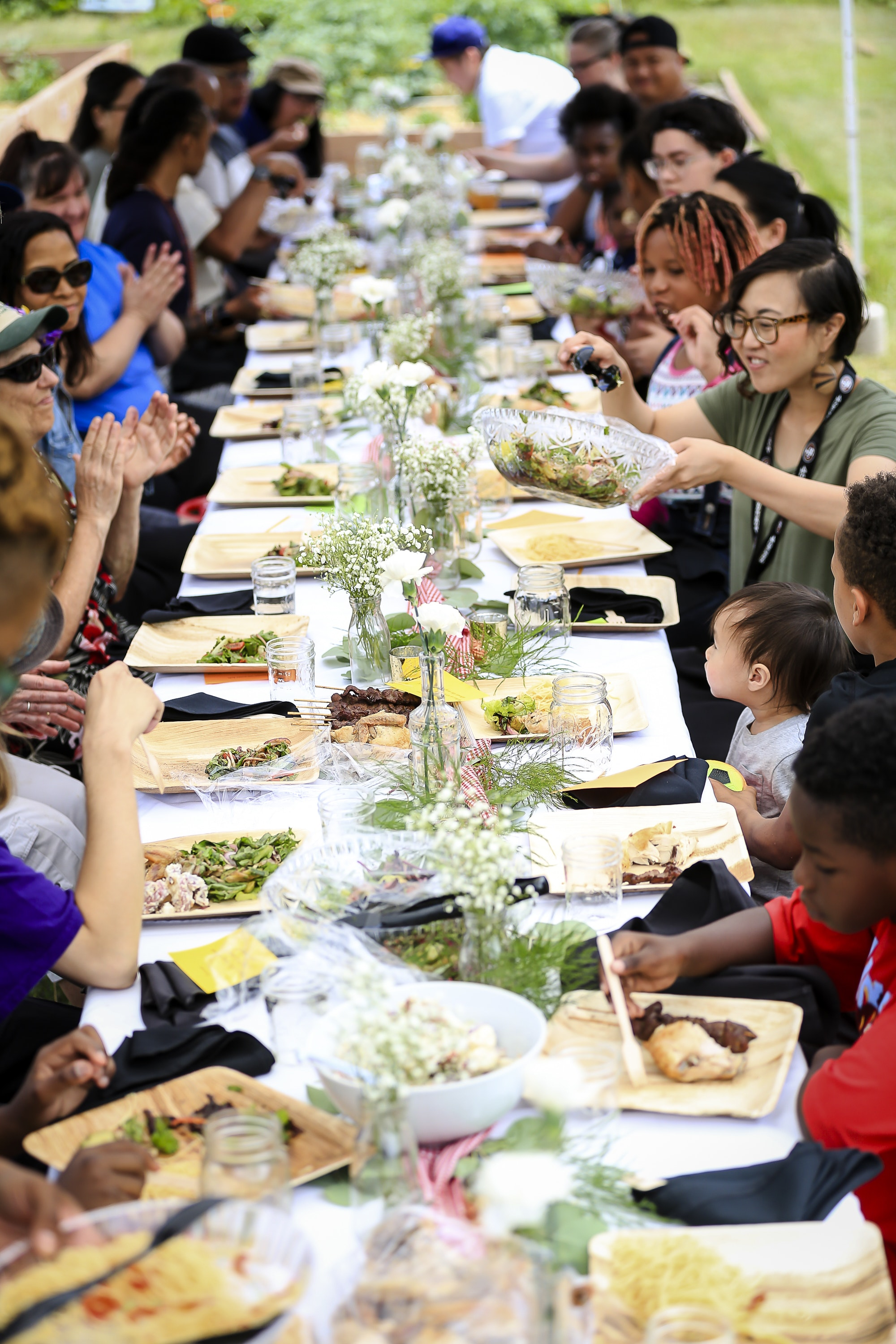 """<p><em>Kathy Mouacheupao's inclusive project """"The Gathering"""" brings together the diverse community of Rondo with The Gathering, a series of art and food events in community gardens.</em></p>"""