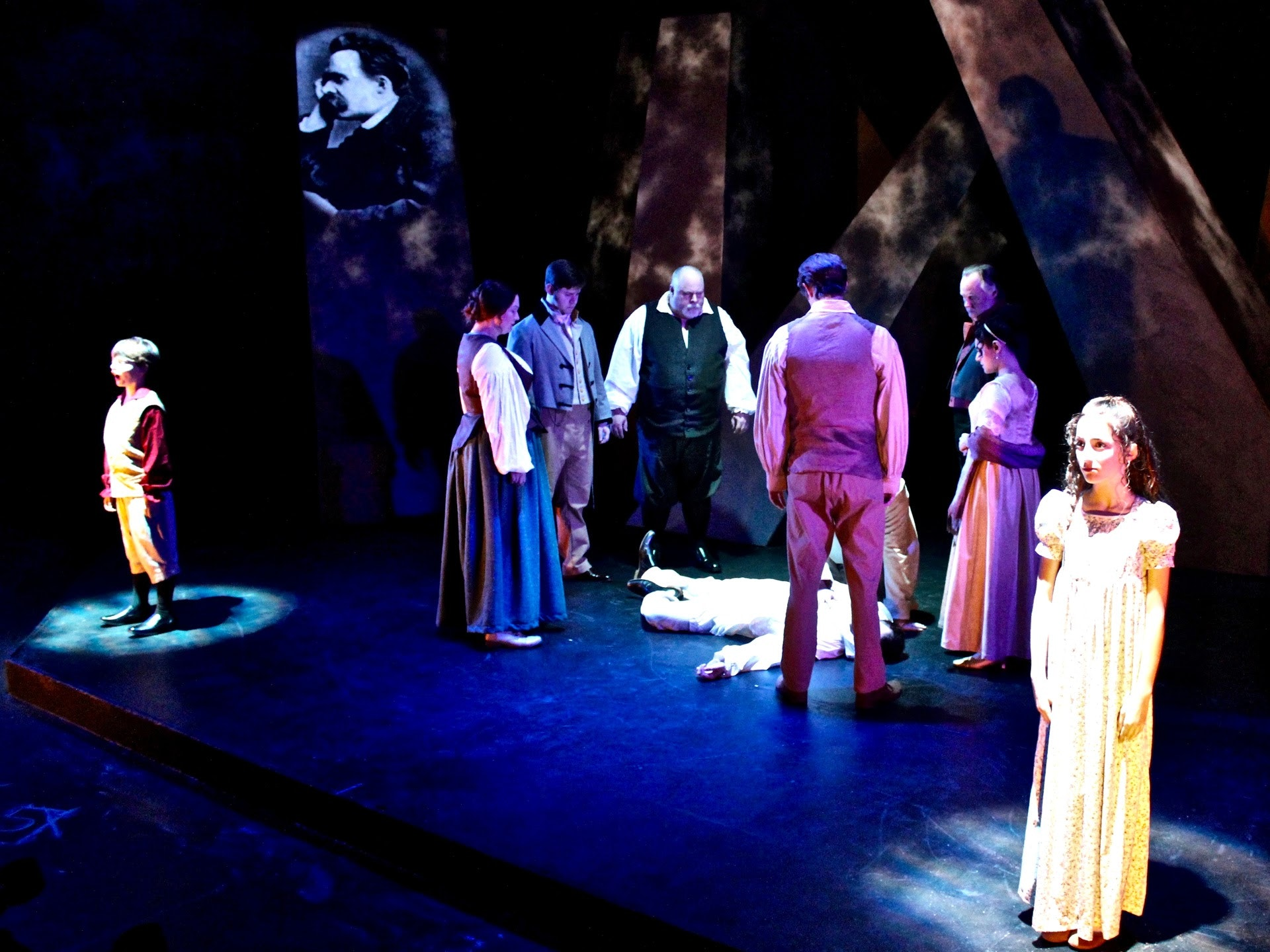 <p>City Lights Theater experiments with new immersive technologies in theater. Photo courtesy of City Lights Theater.</p>