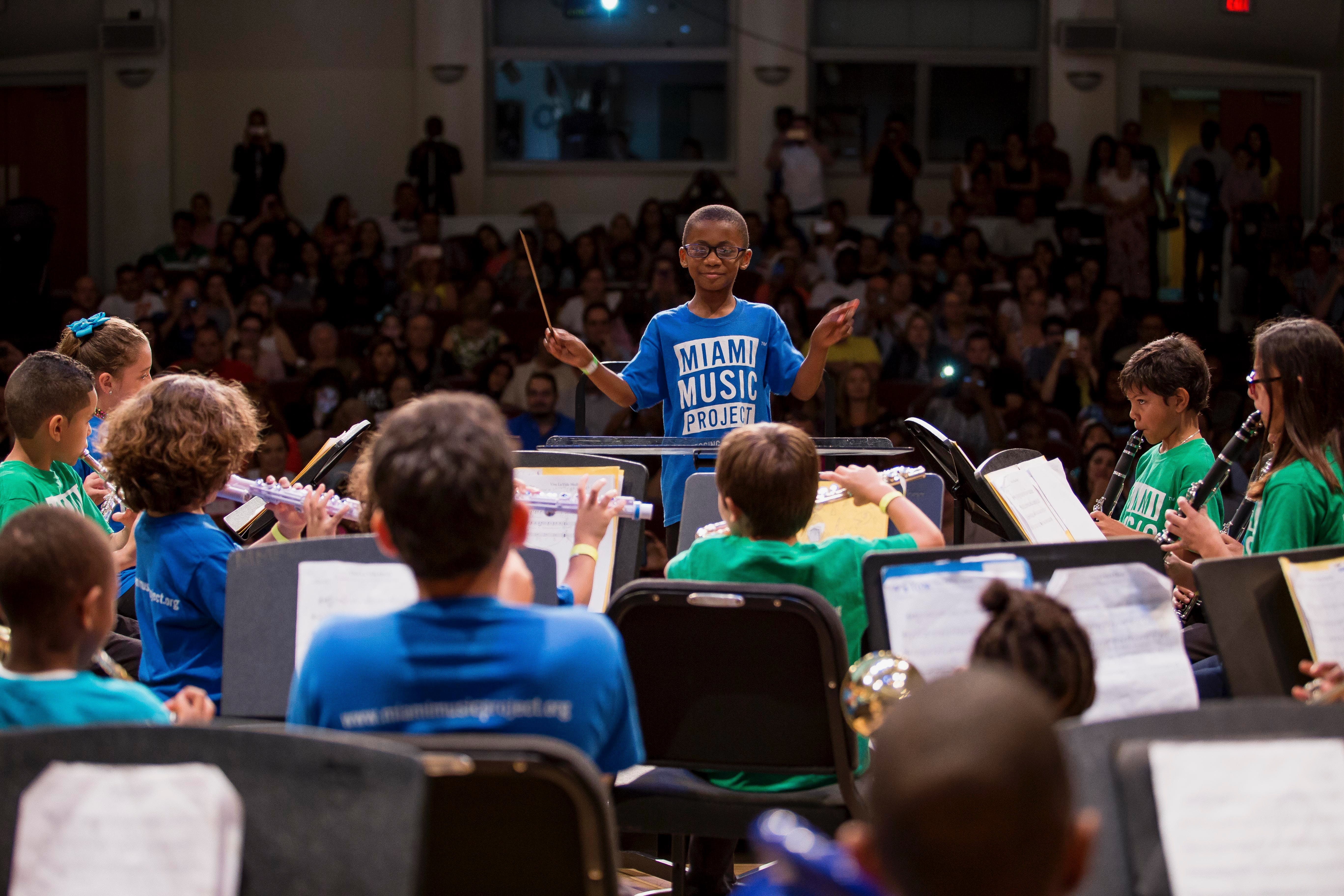 <p><em>A performance by the Miami Music Project, which will receive a $750,000 investment from Knight to introduce more youth to classical music training.</em></p>