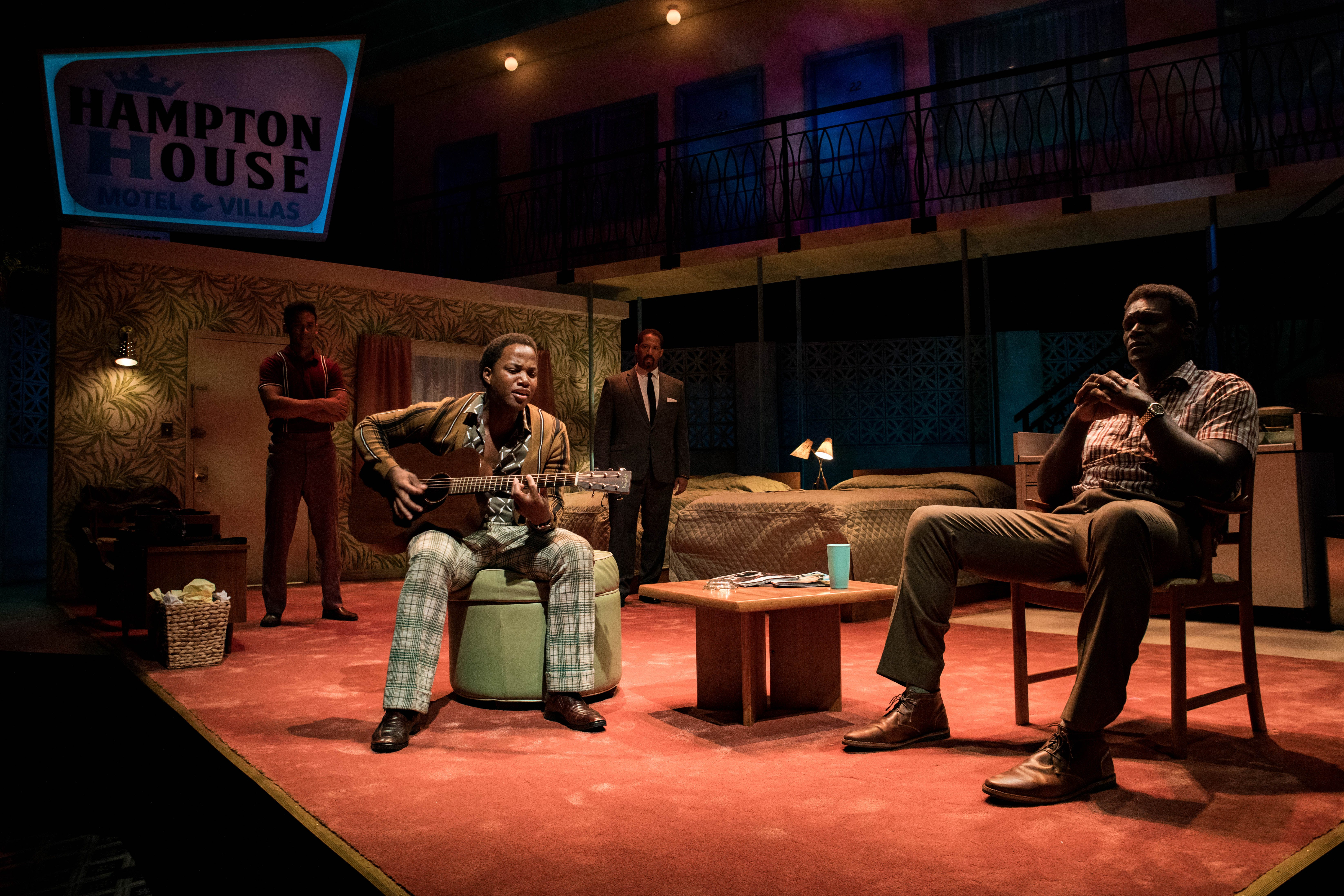<p><em>A performance of &quot;One Night in Miami&quot; at Miami New Drama, which will receive a $750,000 investment from Knight to elevate and sustain the production of original, critically-acclaimed theater in Miami. Credit: Stian Roenning.</em></p>