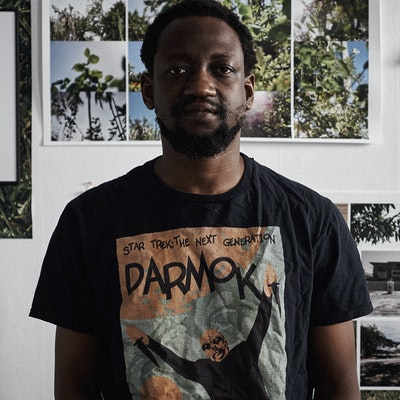 Adler Guerrier, Haitian-born and Miami-based multidisciplinary artist